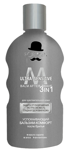 SOOTHING AFTER SHAVE BALSAM-COMFORT ULTRA SENSITIVE